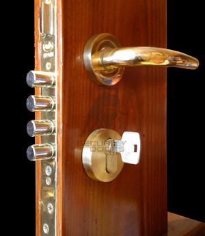 Puertas anti robo cerradura amig