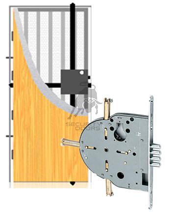 Puerta standard reforzada Securitydoors
