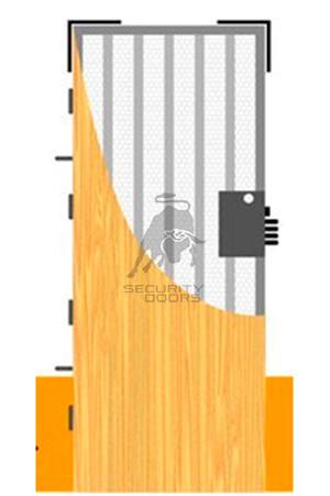 Reforzamiento de puerta standard Securitydoors
