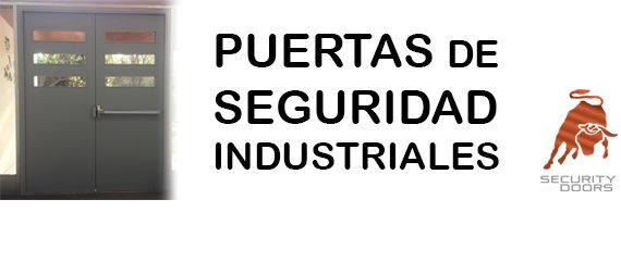 puertas industriales de seguridad
